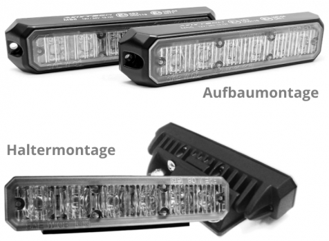 Axixtech/Juluen MS6 LED-Frontblitzer, Set